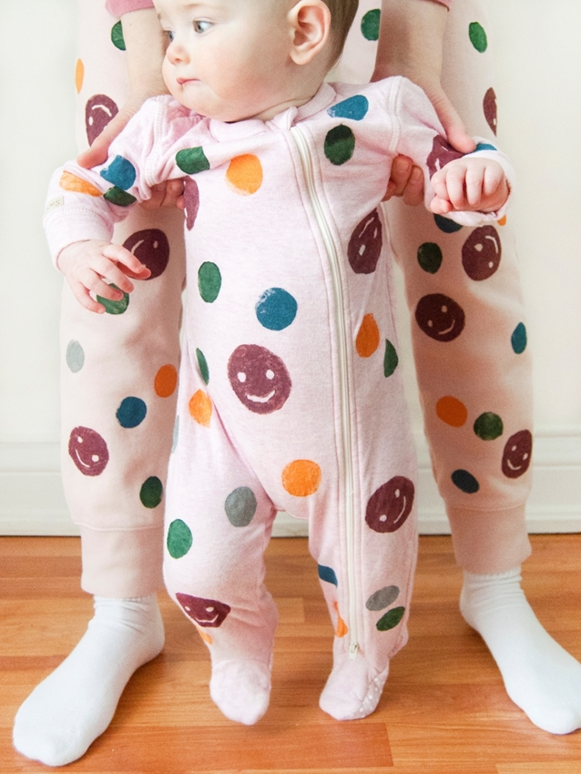 Matching PJs with Tulip Soft Fabric Paints