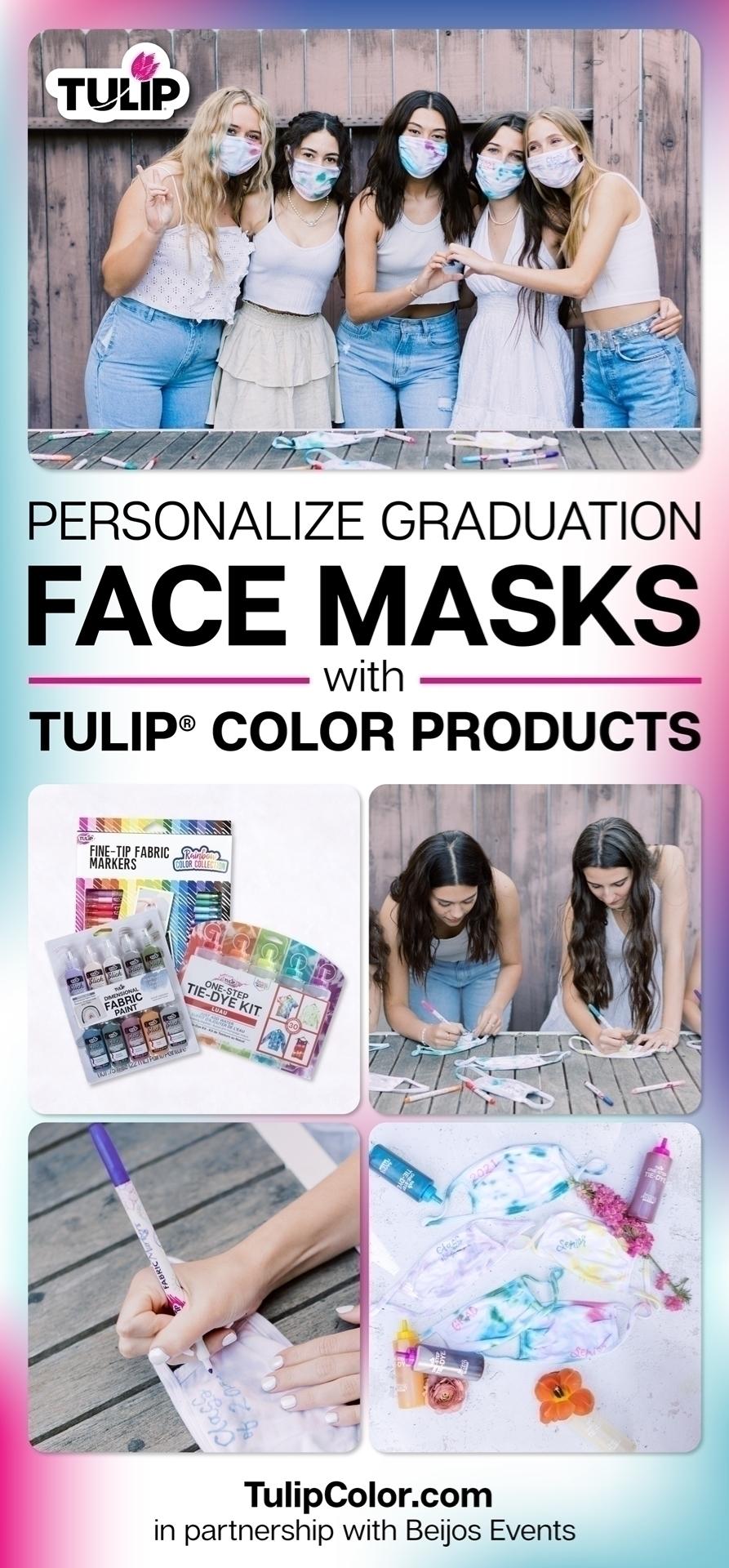 Personalized Graduation Face Masks