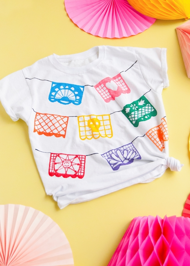 Rainbow Papel Picado T-shirt