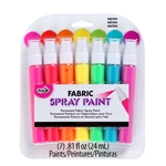 Picture of Fabric Spray Paint Mini Neon 7 Pack