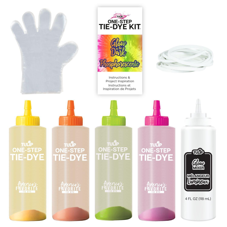 46021 Glow Tie Dye Kit contents