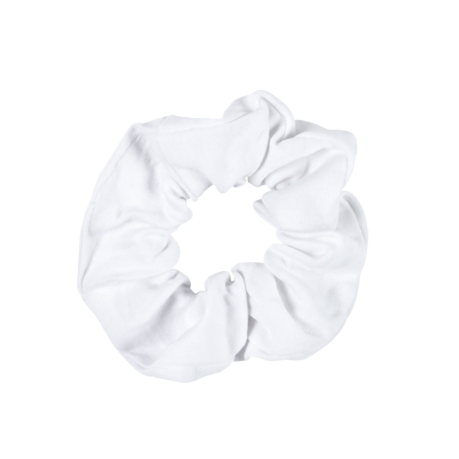 White Scrunchies 4 Pack contents
