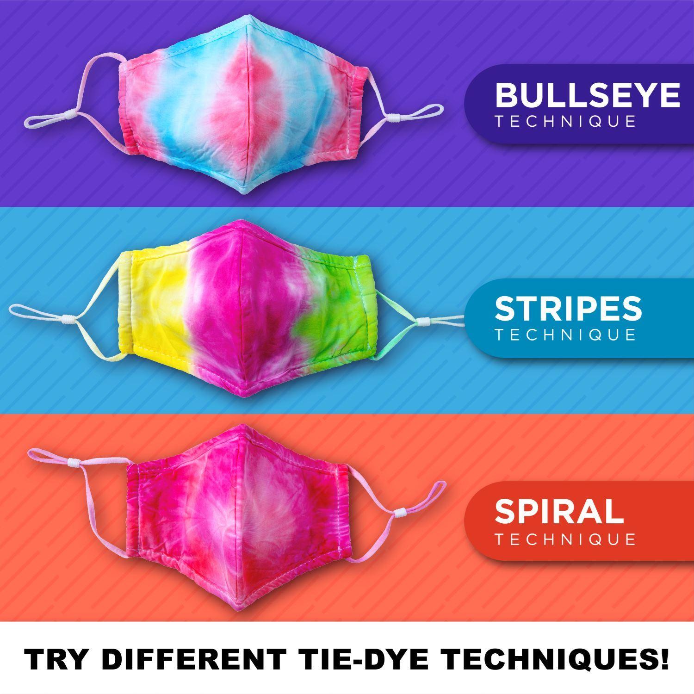 46612 Adult Face Masks 3 Pack 3 techniques infographic