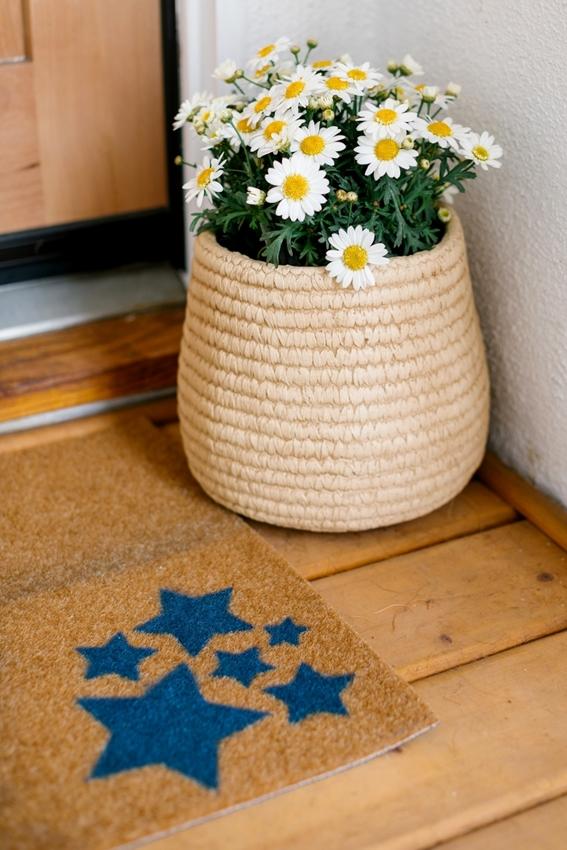 ColorShot Spray Paint Star Doormat