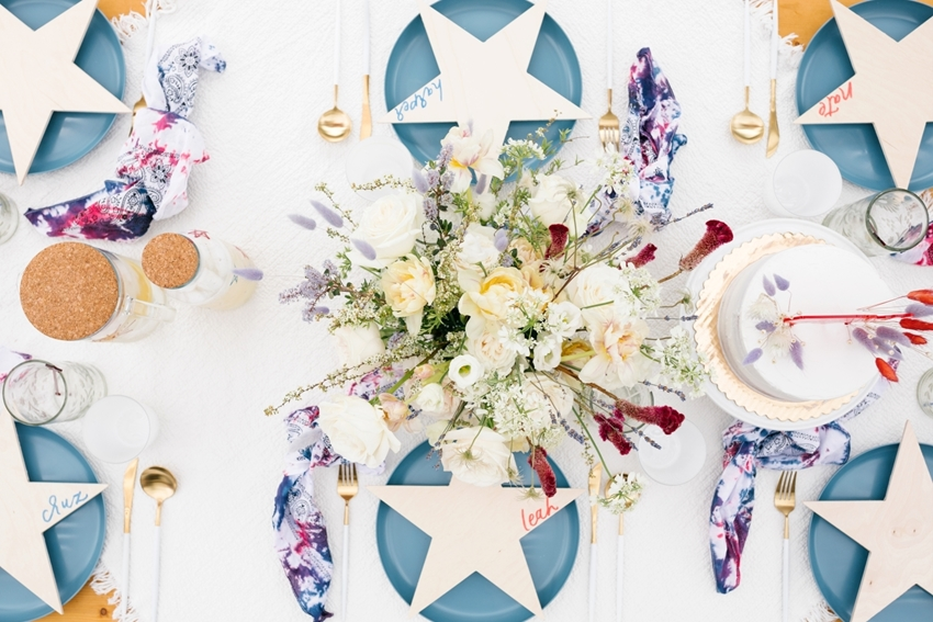 4th of July Table Settings
