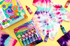 Picture of Mommy and Me Idea: Words of Kindness Tie-Dye T-shirts