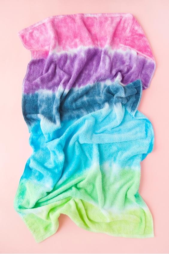 Tie-Dye Beach Towels