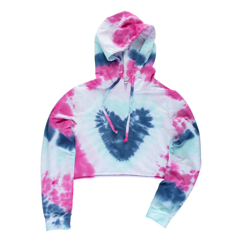 45524 Hearts Technique Tie Dye Kit sweatshirt project
