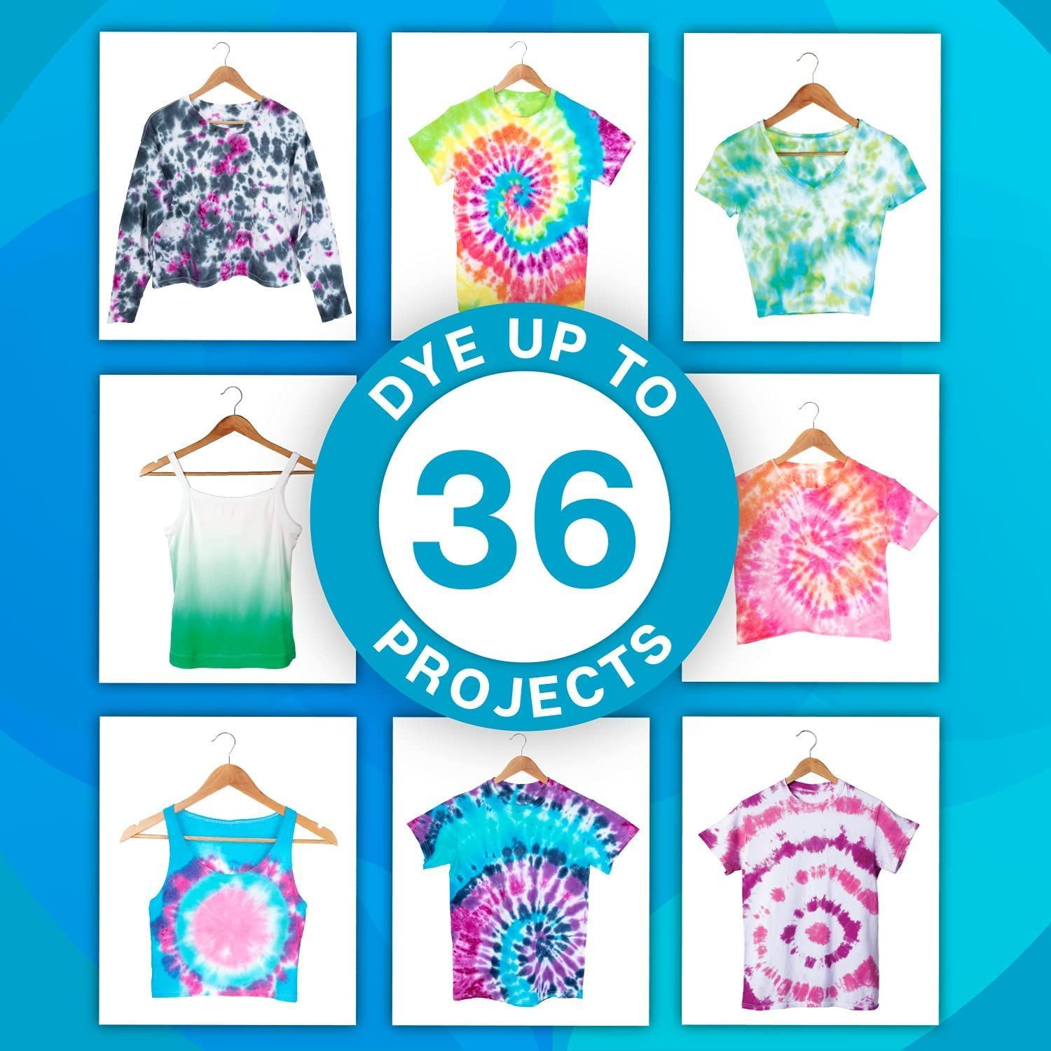 Tie-Dye Party Kit 14 colors up to 36