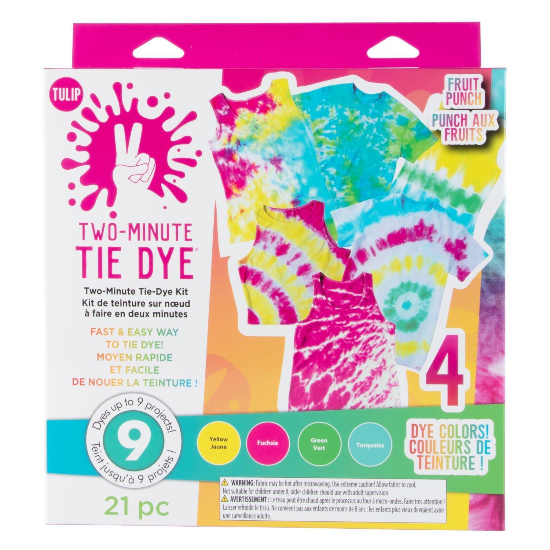 Tulip Two-Minute Tie Dye Kit