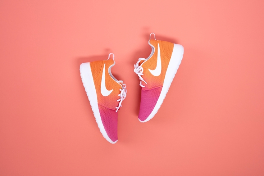Ombre Spray Painted Shoes