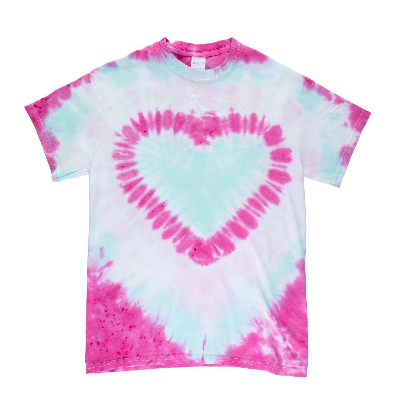 45524 Hearts Technique Tie Dye Kit T-shirt project