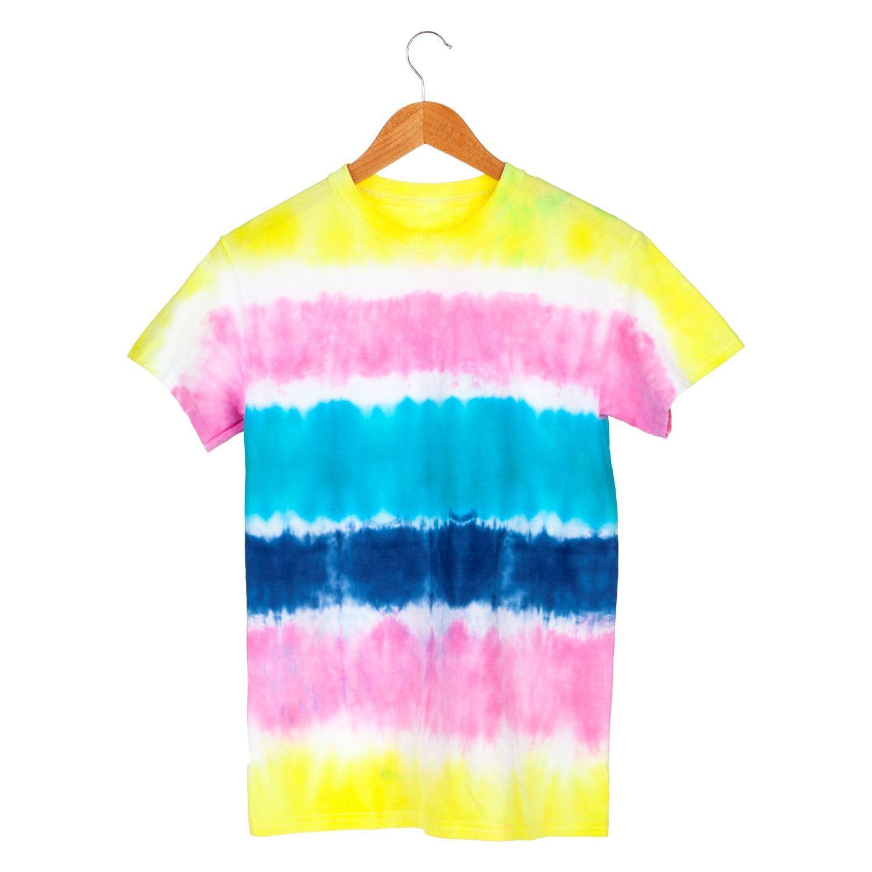 45523 Stripes Technique Tie-Dye Kit T-shirt project