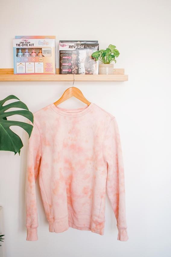 Picture of Reverse Tie Dye Sweatshirt