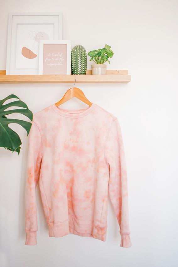 Reverse Tie-Dye Sweatshirt