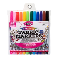 Fine Tip Fabric Markers 12 Pack