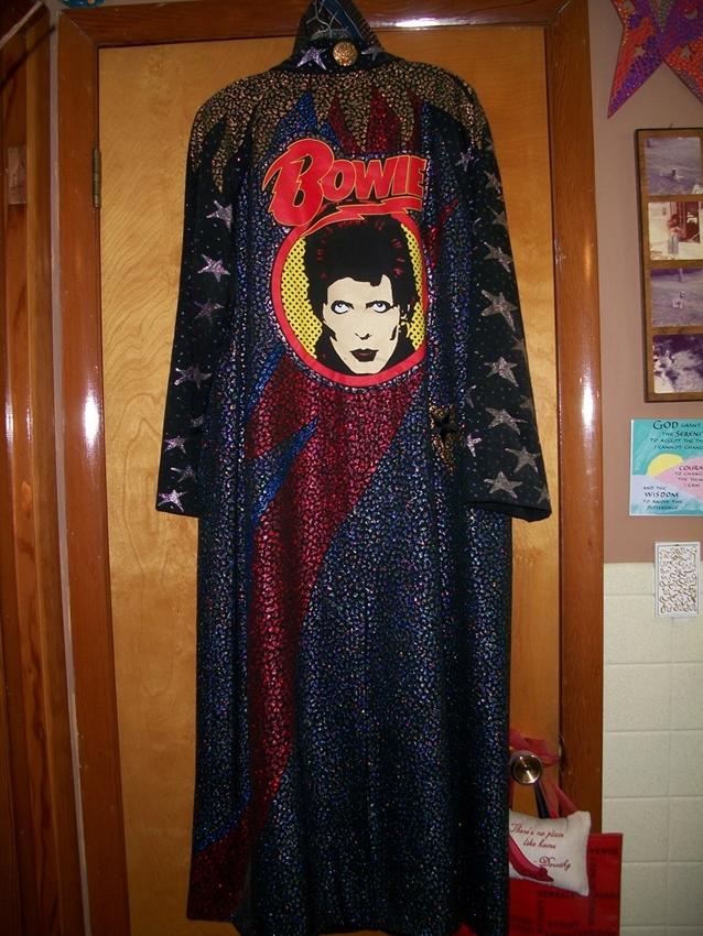 Abigail's David Bowie Puff Paint Jacket