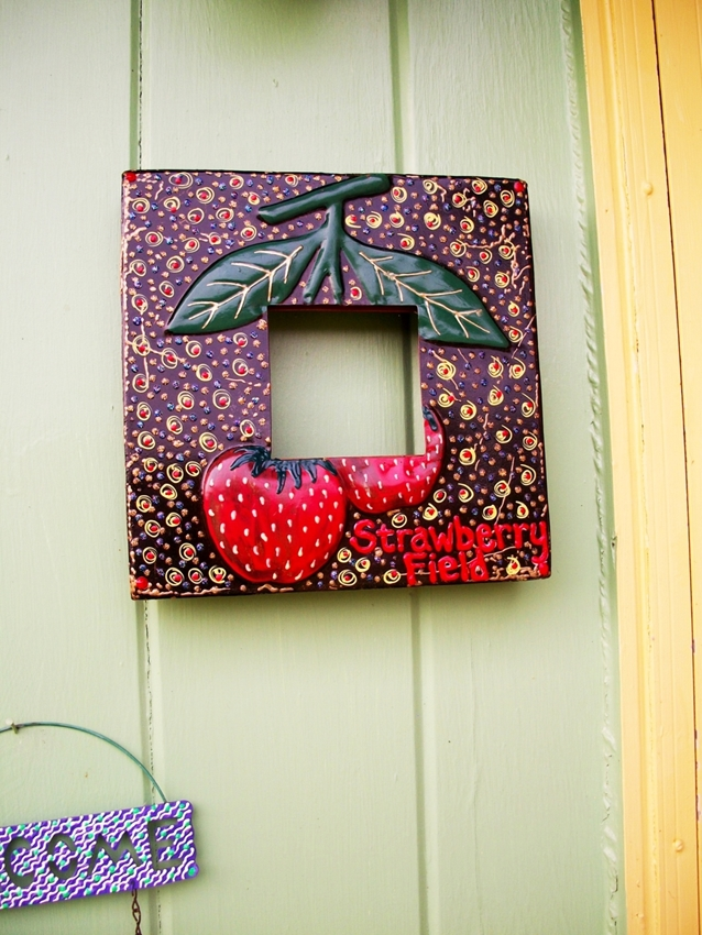 Puff Paint picture frame