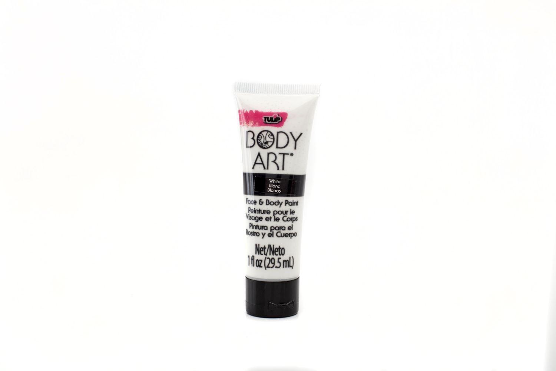 32688 Body Art Liquid Body Paint White Contents