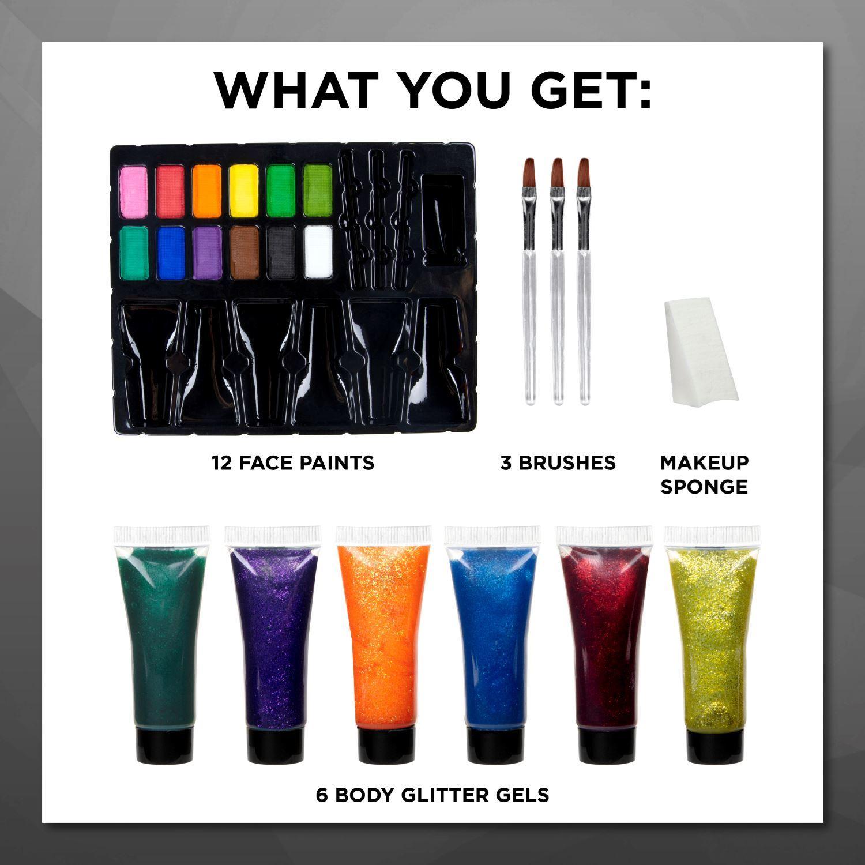 Tulip® Body Art® Face & Body Paint contents