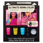 45633 Ultimate Henna Color Vibrant Tattoo Kit Front of Package