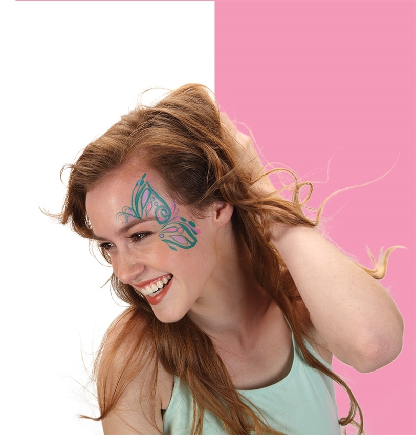 Picture of Butterfly Face Paint Art