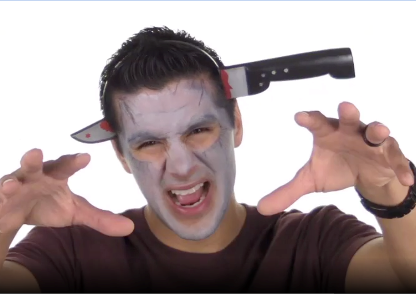 Campy Horror Movie Face Paint