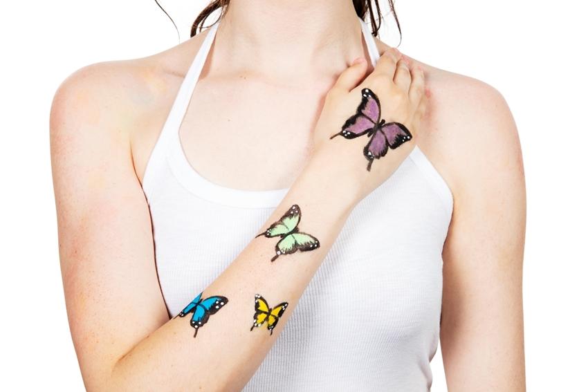 Butterflies Body Art