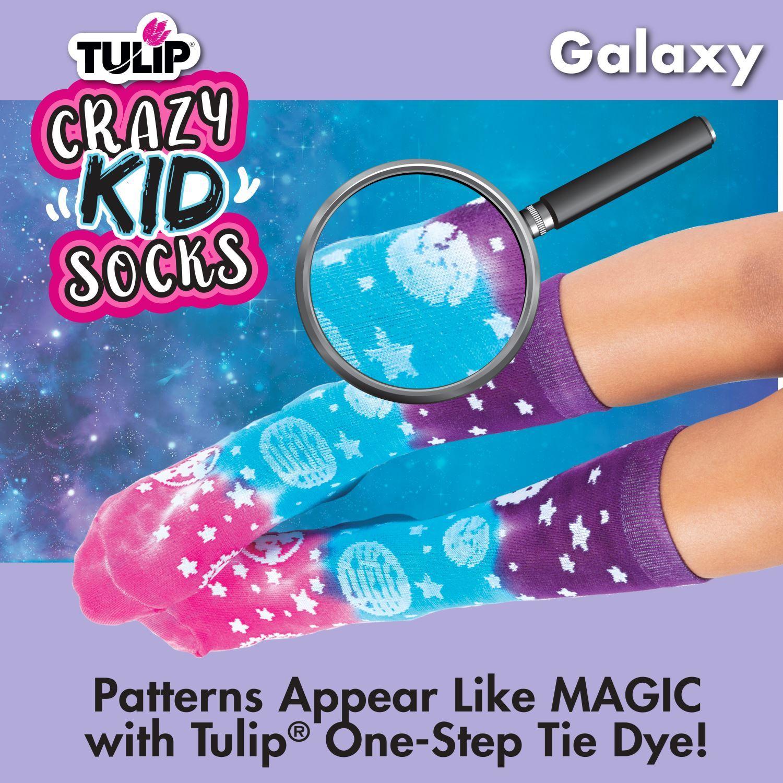 46496 Kids Crazy Socks Galaxy Infographic 2 of 3