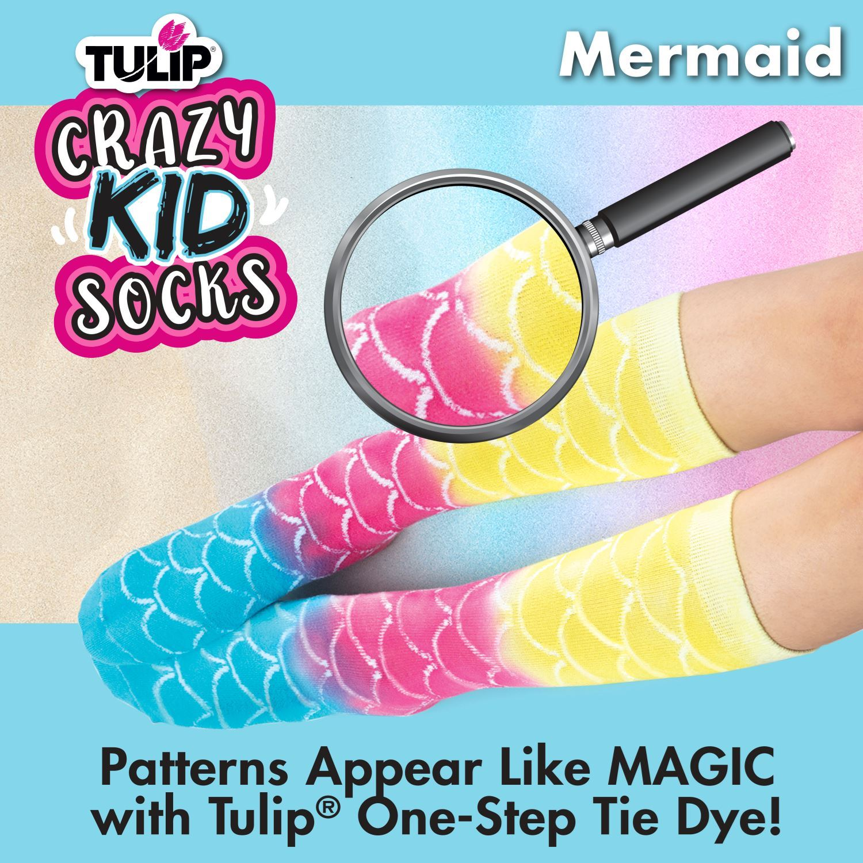 46494 Kids Crazy Socks Mermaid Infographic 2 of 3