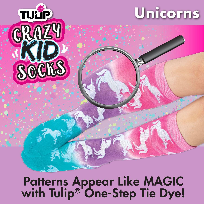 46494 Kids Crazy Socks Unicorn Infographic 2 of 3