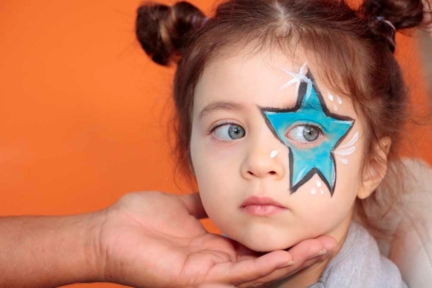 Superstar Face Paint Idea