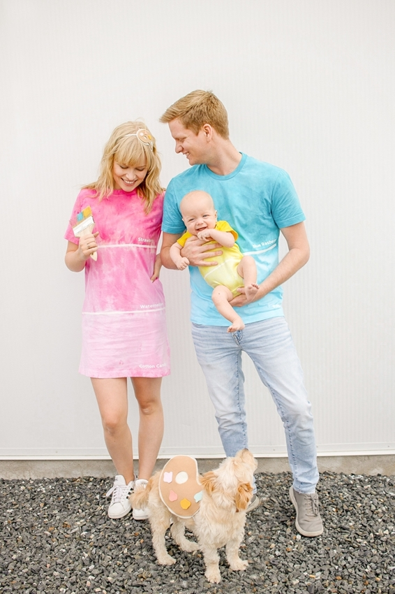 Picture of Cute Colorful Couples Costumes for Halloween